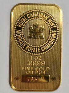 Canadian mint 1 Oz
